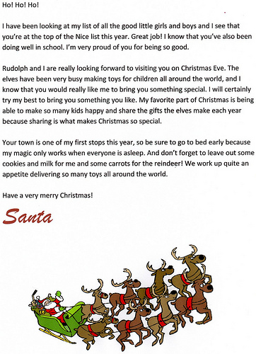 free printable letters from santa free printable santa letters at letter tips 41143