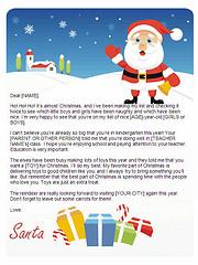 Dear Santa Letter Template Christmas Letter Tips