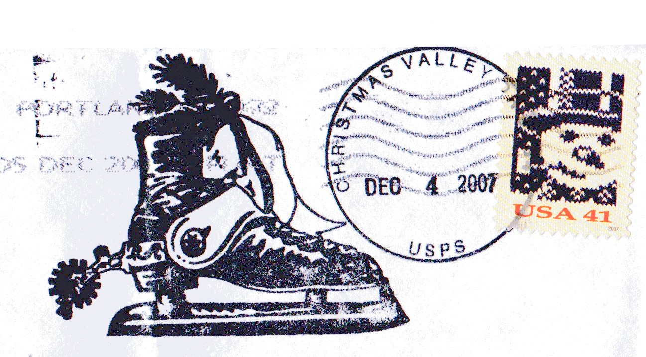 christmas cancellation postmark