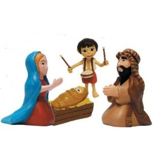 little drummer boy figures