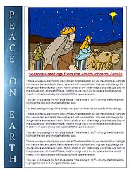 Microsoft Word Christmas Letter Templates from blog.christmaslettertips.com