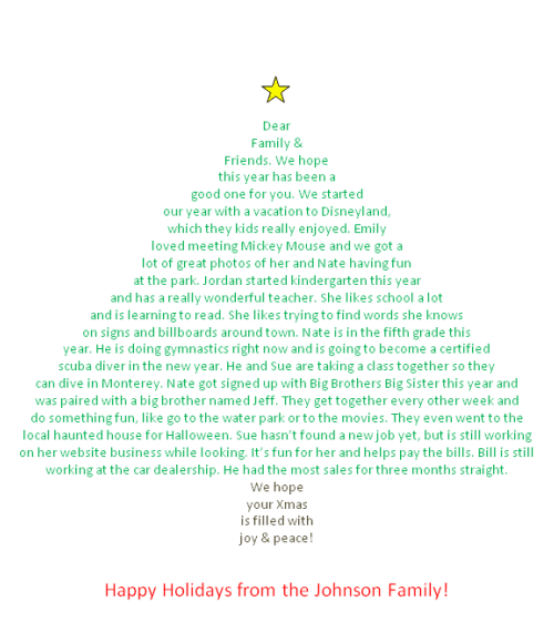 Printable Templates For Christmas Acrostic Poem | New Calendar ...