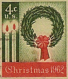 first christmas stamp 1962